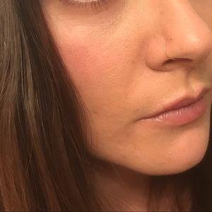 Jewelry 26 Gauge Tiny 24k Gold Nose Ring 8mm Length Poshmark